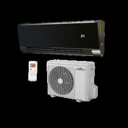 FISHER FSAIF-Art-90AE2-B (kültéri + beltéri egység) Oldalfali split klíma BLACK 2,6 kW,Hősz, Inverter , R410A, WIFI csatlakozási opció