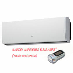 FUJITSU ASYG09LUCA/AOYG09LUCB (kültéri + beltéri egység) oldalfali split klíma 2,5 kW Hősziv, Inver, R410A