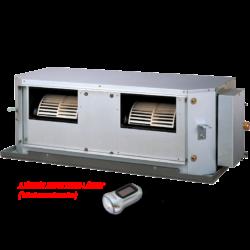 FUJITSU ARYG 54 LHTA / AOYG 54 LETL (kültéri + beltéri egység) Légcsatornás split klíma 13,4 kW,  inverter, hősziv, R410 A