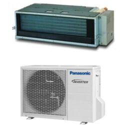 Panasonic Kit-Z25-Ud3 (beltéri + kültéri egység panel) Légcsatornás split klíma 2.5 kW, Inverter,Hösziv., R32