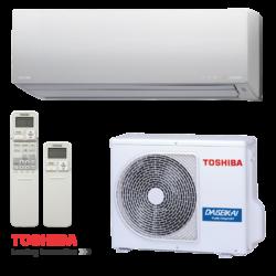 Toshiba RAS-10G2KVP-E Daiseikai 8.0  (kültéri + beltéri egység) Oldalfali split klíma 2,6 kW, Hőszivattyús , R410A
