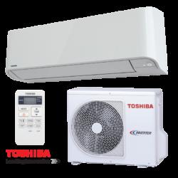 Toshiba RAS-10BKVG-E Mirai (kültéri + beltéri egység) Oldalfali split klíma 2,5 kW, Hőszivattyús , R32