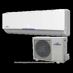 FISHER FSAIF-Pro-94AE2 (kültéri + beltéri egység) Oldalfali split klíma 2,6 kW,Hősz, Inverter , R410A, WIFI csatlakozási opció