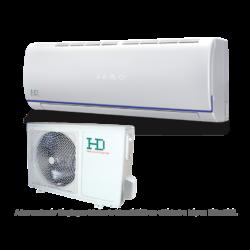 HD  HDWI-MAXIMUS-124C / HDOI-MAXIMUS-124C (beltéri +kültéri egység) BLUE Oldalfali split klíma (MAXIMUS) 3,5 kW, Hősziv,Inverteres, R410A