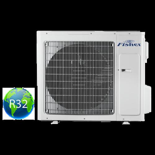 FISHER FS3MIF-243BE3 (kültéri egység) Multi inv.klíma kültéri egység 7,1 kW, Hősziv ,inverter R32